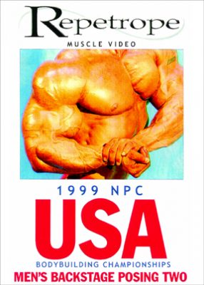 1999 NPC USA - Men's Backstage Posing # 2