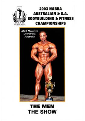 2003 NABBA Australia - Men's Show Download