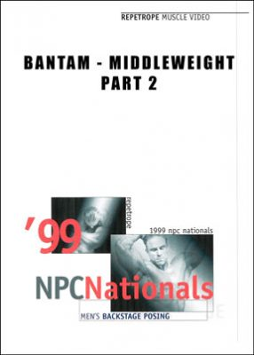 1999 NPC Nationals Backstage Posing Bantam/Middleweight # 2