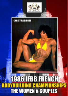 1986 IFBB French Bodybuilding Championships Women