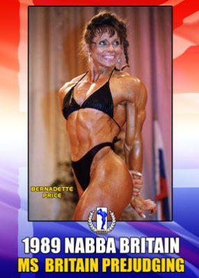 1989 NABBA Ms. Britain Prejudging