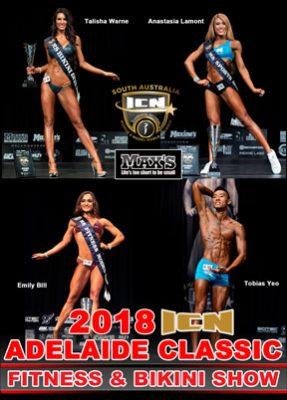 2018 ICN Adelaide Classic Fitness & Bikini DVD