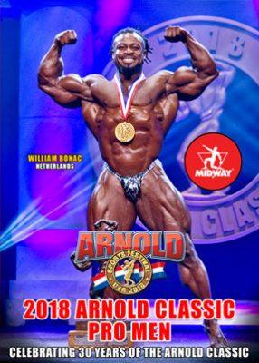 2018 Arnold Classic Pro Men DVD