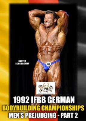 1992 IFBB German Championships - Men's Prejudging # 2 download
