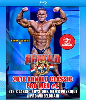 2018 Arnold Classic Pro Men 2 Blu-ray