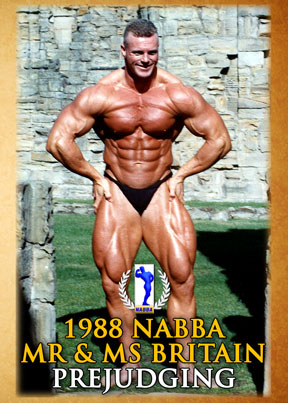 1988 NABBA Mr & Ms Britain - Prejudging (DVD) - GMV Bodybuilding