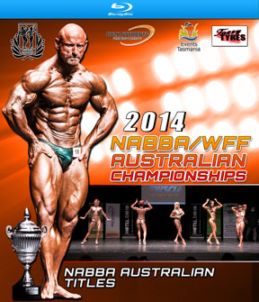 2016 NABBA Australia Blu-Ray