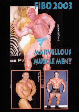 FIBO 2003 - Marvellous Muscle Men