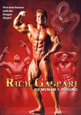 Rich Gaspari - Seminar and Posing