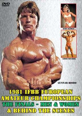 1981 IFBB Amateur Euro Championships (DVD)