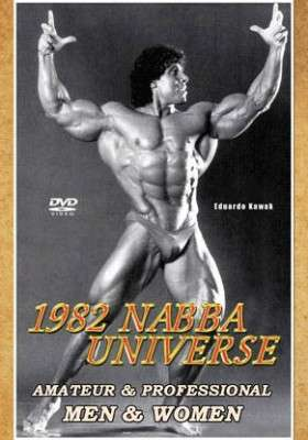 1982 NABBA Universe Prejudging and Show (DVD)