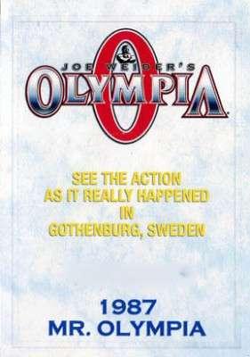 1987 Mr. Olympia (DVD)