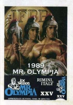 1989 Mr. Olympia (DVD)