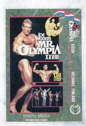 1992 Mr. Olympia (DVD)