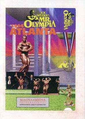 1994 Mr Olympia DVD