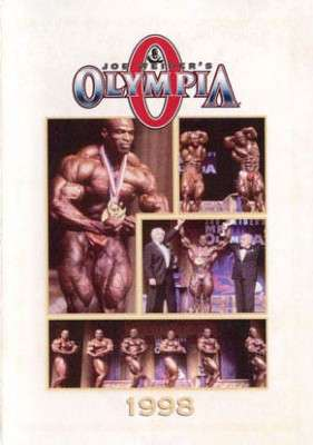 1998 Mr. Olympia (DVD)