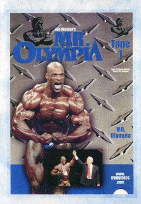 2001 Mr. Olympia (DVD)