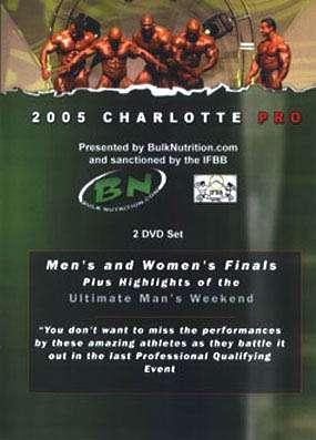 2005 Charlotte Pro (DVD)