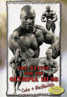 The Battle for the Olympia 1998 (DVD)