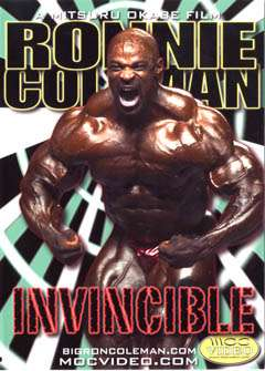 Ronnie Coleman - Invincible (DVD)