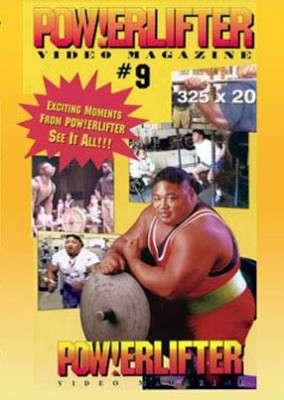 Powerlifter Video Magazine 9 (DVD)