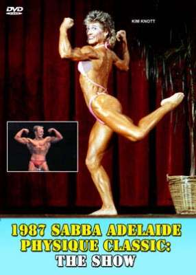 1987 SABBA Adelaide Physique Classic: Show (DVD)