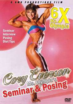 Cory Everson - Ms. Olympia's Seminar and Posing (DVD)