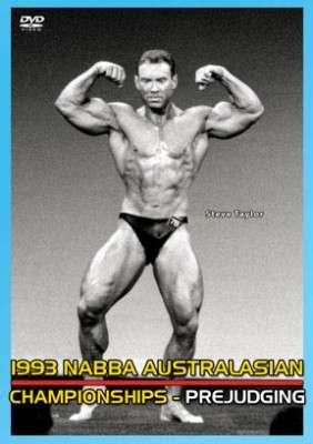 1993 NABBA Australasia: Prejudging (DVD)