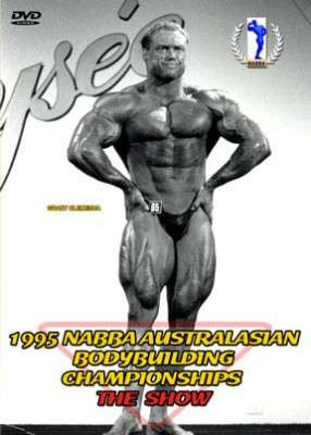 1995 NABBA Australasia - The Show (DVD)
