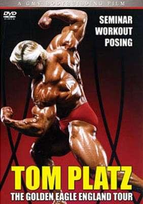 Tom Platz - The Golden Eagle England Tour (DVD)