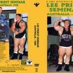 Lee Priest - Training Seminar and Posing (DVD)