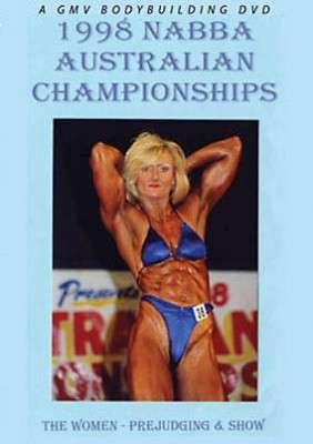 1998 NABBA Australia Women (DVD)