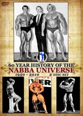 60 Year History of the NABBA Universe (DVD)