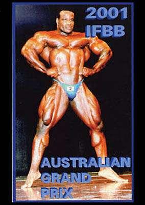 2001 IFBB Pro Australian Grand Prix (DVD)