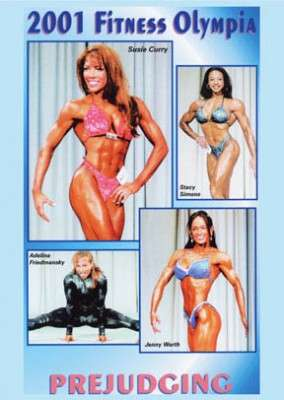 2001 Fitness Olympia Prejudging