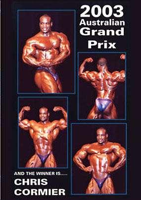 2003 IFBB Pro Australian Grand Prix (DVD)