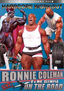 Ronnie Coleman - On the Road (DVD)