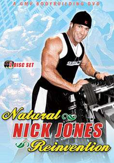 Nick Jones – Natural Reinvention (DVD)