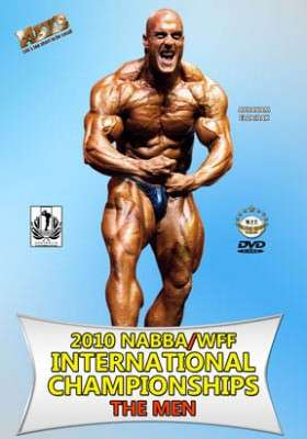 2010 NABBA- WFF International: Men (DVD)