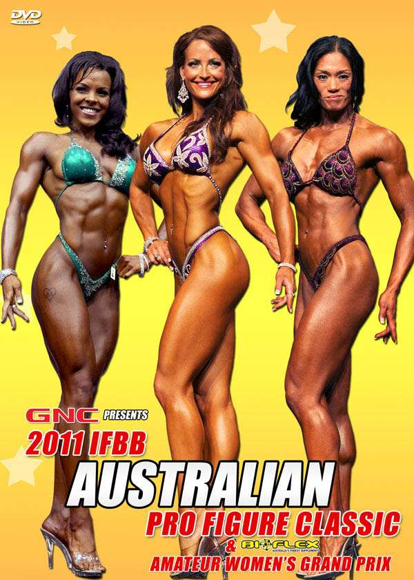 2011 IFBB Australian Pro Figure Classic (DVD)