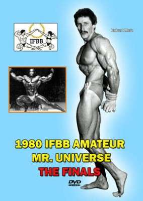 1980 IFBB Amateur Mr. Universe (DVD)