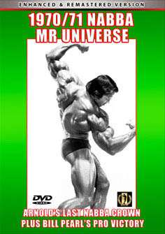 1970 and 1971 NABBA Mr. Universe (DVD)