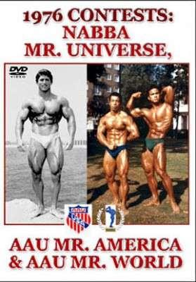 1976 NABBA Mr. Universe AAU Mr. America &  AAU Mr. World (DVD)