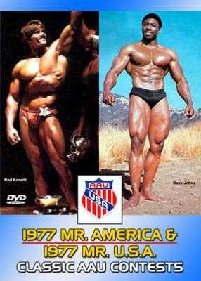 1977 AAU Mr. America 1977 AAU Mr. U.S.A. (DVD)