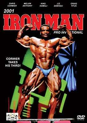 2001 Iron Man Pro Invitational (DVD)