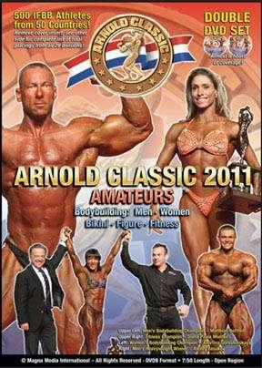 2011 Arnold Classic Amateur Bodybuilding (DVD)