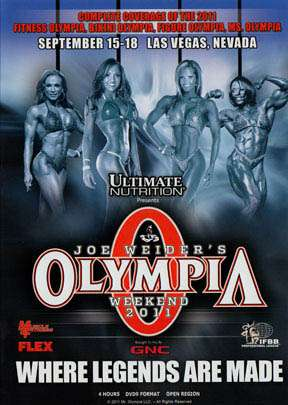 2011 Women's Olympia (DVD)
