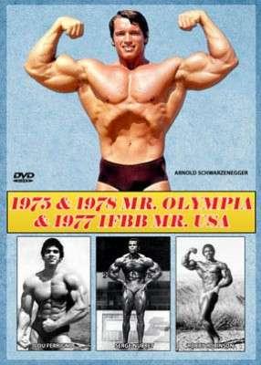 1975 & 1978 Mr. Olympias & 1977 IFBB Mr. USA (DVD)