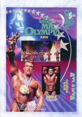 1993 Mr. Olympia (DVD)