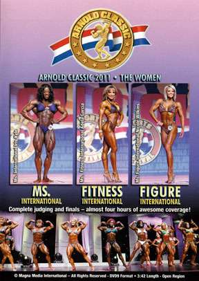 2011 Arnold Classic - The Women   (DVD)